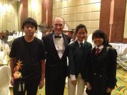 Dr. Robert Halseth and friends in Thailand