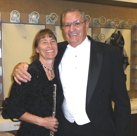 Laurie Piner and Bill Hill