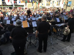The Mazey Day concert, Penzance