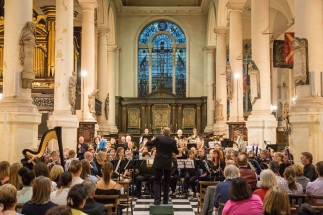 St Sepulchre-without-Newgate combined concert with the Lambeth Wind Orchestra, Robert Halseth conducting