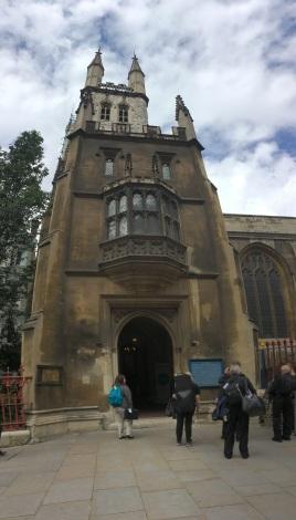 London concert venue: St Sepulchre-without-Newgate
